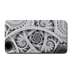 Fractal Wallpaper Black N White Chaos Medium Bar Mats by Amaryn4rt