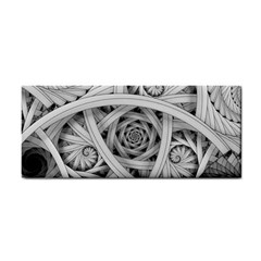 Fractal Wallpaper Black N White Chaos Cosmetic Storage Cases by Amaryn4rt