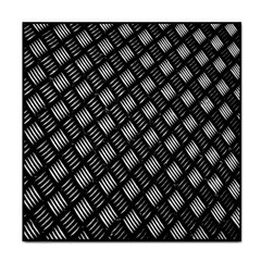 Abstract Of Metal Plate With Lines Tile Coasters by Amaryn4rt