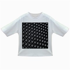 Abstract Of Metal Plate With Lines Infant/toddler T Shirts by Amaryn4rt