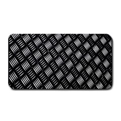 Abstract Of Metal Plate With Lines Medium Bar Mats by Amaryn4rt