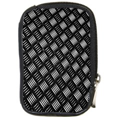 Abstract Of Metal Plate With Lines Compact Camera Cases by Amaryn4rt