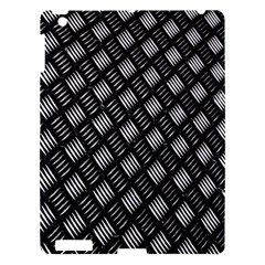 Abstract Of Metal Plate With Lines Apple Ipad 3/4 Hardshell Case by Amaryn4rt