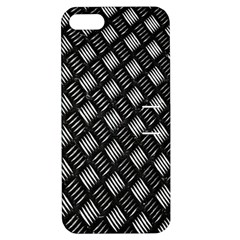 Abstract Of Metal Plate With Lines Apple Iphone 5 Hardshell Case With Stand by Amaryn4rt