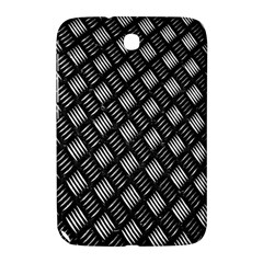 Abstract Of Metal Plate With Lines Samsung Galaxy Note 8 0 N5100 Hardshell Case  by Amaryn4rt