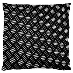 Abstract Of Metal Plate With Lines Standard Flano Cushion Case (one Side) by Amaryn4rt