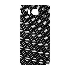 Abstract Of Metal Plate With Lines Samsung Galaxy Alpha Hardshell Back Case by Amaryn4rt