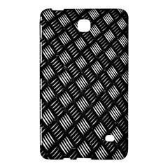 Abstract Of Metal Plate With Lines Samsung Galaxy Tab 4 (8 ) Hardshell Case  by Amaryn4rt