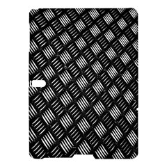 Abstract Of Metal Plate With Lines Samsung Galaxy Tab S (10 5 ) Hardshell Case  by Amaryn4rt