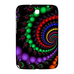 Fractal Background With High Quality Spiral Of Balls On Black Samsung Galaxy Note 8 0 N5100 Hardshell Case  by Amaryn4rt