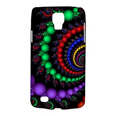 Fractal Background With High Quality Spiral Of Balls On Black Galaxy S4 Active by Amaryn4rt