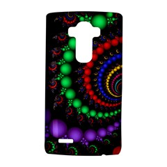 Fractal Background With High Quality Spiral Of Balls On Black Lg G4 Hardshell Case by Amaryn4rt