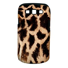 Yellow And Brown Spots On Giraffe Skin Texture Samsung Galaxy S Iii Classic Hardshell Case (pc+silicone) by Amaryn4rt