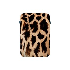 Yellow And Brown Spots On Giraffe Skin Texture Apple Ipad Mini Protective Soft Cases by Amaryn4rt