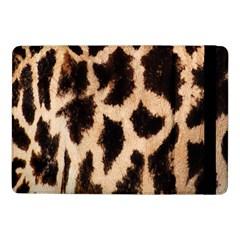 Yellow And Brown Spots On Giraffe Skin Texture Samsung Galaxy Tab Pro 10 1  Flip Case by Amaryn4rt