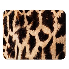 Yellow And Brown Spots On Giraffe Skin Texture Double Sided Flano Blanket (large)  by Amaryn4rt