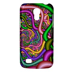Fractal Background With Tangled Color Hoses Galaxy S4 Mini by Amaryn4rt