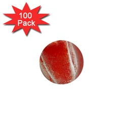 Red Pepper And Bubbles 1  Mini Buttons (100 Pack)  by Amaryn4rt