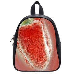 Red Pepper And Bubbles School Bags (small)  by Amaryn4rt