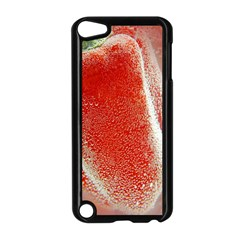 Red Pepper And Bubbles Apple Ipod Touch 5 Case (black) by Amaryn4rt
