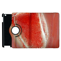 Red Pepper And Bubbles Apple Ipad 2 Flip 360 Case by Amaryn4rt