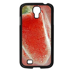 Red Pepper And Bubbles Samsung Galaxy S4 I9500/ I9505 Case (black) by Amaryn4rt