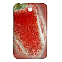 Red Pepper And Bubbles Samsung Galaxy Tab 3 (7 ) P3200 Hardshell Case  by Amaryn4rt