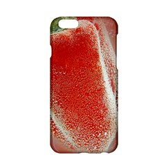 Red Pepper And Bubbles Apple Iphone 6/6s Hardshell Case by Amaryn4rt