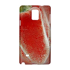 Red Pepper And Bubbles Samsung Galaxy Note 4 Hardshell Case by Amaryn4rt