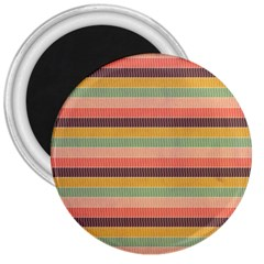 Abstract Vintage Lines Background Pattern 3  Magnets by Amaryn4rt
