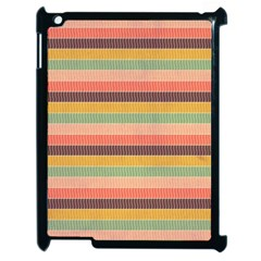 Abstract Vintage Lines Background Pattern Apple Ipad 2 Case (black) by Amaryn4rt