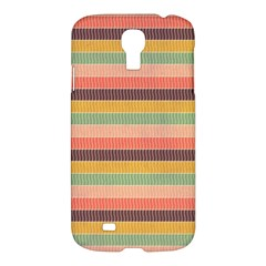 Abstract Vintage Lines Background Pattern Samsung Galaxy S4 I9500/i9505 Hardshell Case by Amaryn4rt