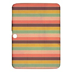 Abstract Vintage Lines Background Pattern Samsung Galaxy Tab 3 (10 1 ) P5200 Hardshell Case