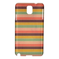 Abstract Vintage Lines Background Pattern Samsung Galaxy Note 3 N9005 Hardshell Case by Amaryn4rt
