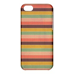 Abstract Vintage Lines Background Pattern Apple Iphone 5c Hardshell Case by Amaryn4rt