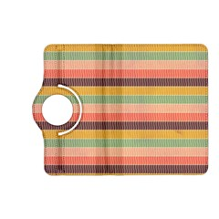 Abstract Vintage Lines Background Pattern Kindle Fire Hd (2013) Flip 360 Case by Amaryn4rt