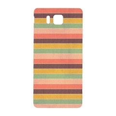 Abstract Vintage Lines Background Pattern Samsung Galaxy Alpha Hardshell Back Case by Amaryn4rt