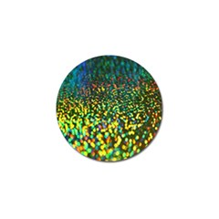 Construction Paper Iridescent Golf Ball Marker (4 Pack) by Amaryn4rt