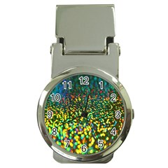 Construction Paper Iridescent Money Clip Watches by Amaryn4rt