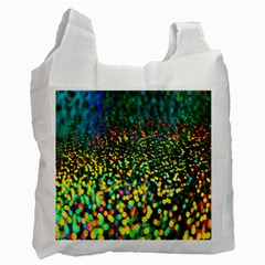 Construction Paper Iridescent Recycle Bag (one Side) by Amaryn4rt