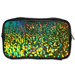 Construction Paper Iridescent Toiletries Bags 2 Side by Amaryn4rt