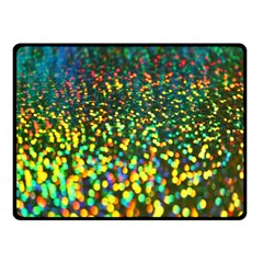 Construction Paper Iridescent Fleece Blanket (small) by Amaryn4rt