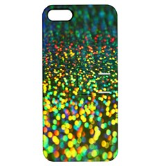 Construction Paper Iridescent Apple Iphone 5 Hardshell Case With Stand by Amaryn4rt