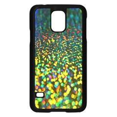Construction Paper Iridescent Samsung Galaxy S5 Case (black) by Amaryn4rt