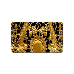 Golden Sun Magnet (name Card) by Amaryn4rt