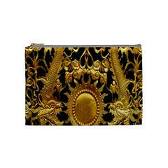 Golden Sun Cosmetic Bag (medium)  by Amaryn4rt
