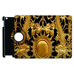 Golden Sun Apple Ipad 3/4 Flip 360 Case by Amaryn4rt
