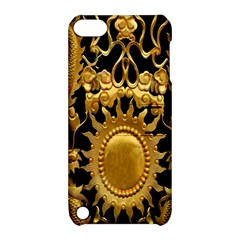 Golden Sun Apple Ipod Touch 5 Hardshell Case With Stand by Amaryn4rt