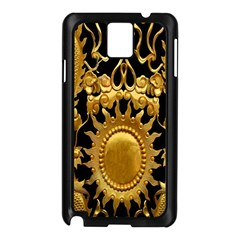 Golden Sun Samsung Galaxy Note 3 N9005 Case (black) by Amaryn4rt