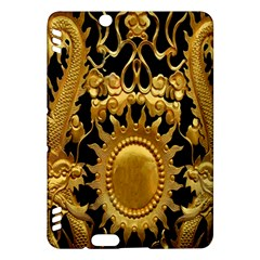 Golden Sun Kindle Fire Hdx Hardshell Case by Amaryn4rt